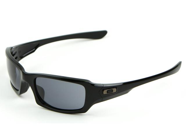 Oakley Fives Squared OO9238 04 54-20 in polished black qfCHqA