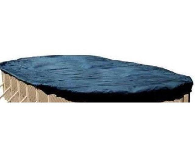Swimline S1836OV 18\' x 36\' Oval Deluxe Above Ground Swimming Pool Winter  Cover - Newegg.com