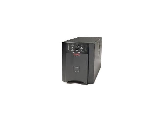 Refurbished: APC Smart-UPS 1500 Black - USB & Serial - Newegg com