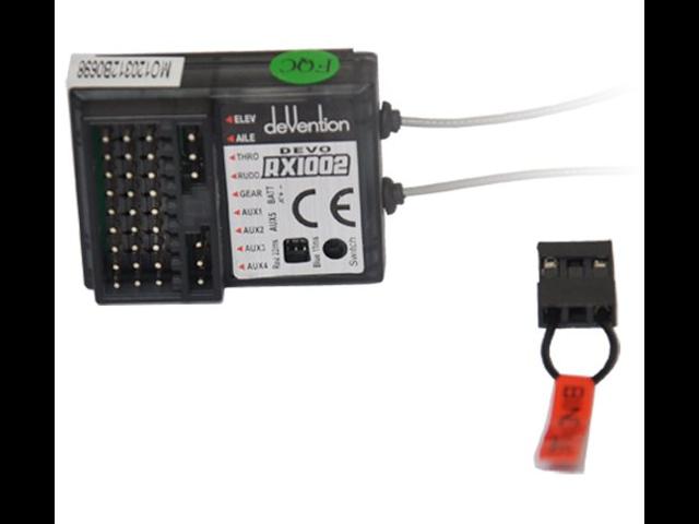 Walkera DEVO RX1002 Receiver 2 4Ghz 10-CH Channel for DEVO 10 Transmitter -  Newegg com