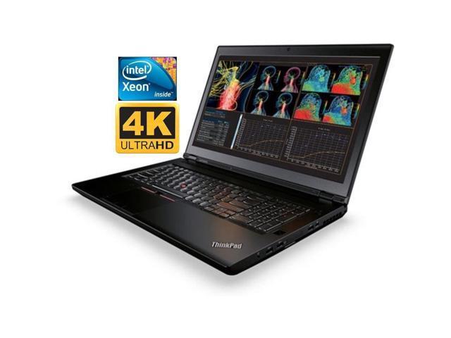 Lenovo ThinkPad P71 Premium Mobile Workstation Laptop with 17 3'' UHD 4K  Display (Intel Xeon Quad Core, 16GB RAM, 512GB SSD, 17 3 inch UHD  3840x2160,