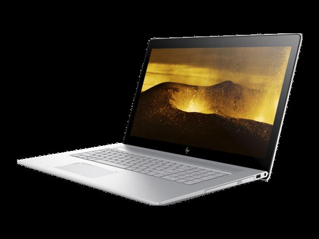 "HP Envy 17t Premium 17.3 inch Touch Laptop (Intel 8th Gen i7 Quad Core, 16GB RAM, 1TB HDD + 128GB SSD, NVIDIA GeForce MX150, 17.3"" FHD (1920 x 1080) Touchscreen, DVD, Win 10 Home)"