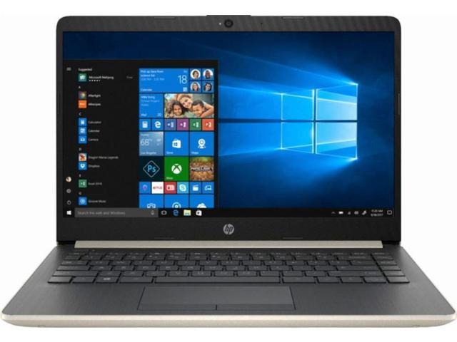 """HP - 14"""" Laptop - Intel Core i3 - 8GB Memory - 128GB Solid State Drive"""