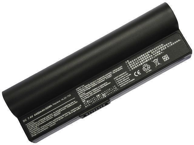 Asus eee pc 1000ha 1000hd 1000he 1000xp 1002ha netbook battery 6.