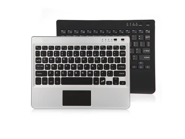8b5a83cc8e0 Portable Slim Touch Keyboard Wireless Bluetooth Keyboard with Rechargeable  Battery for Android Windows 7/8