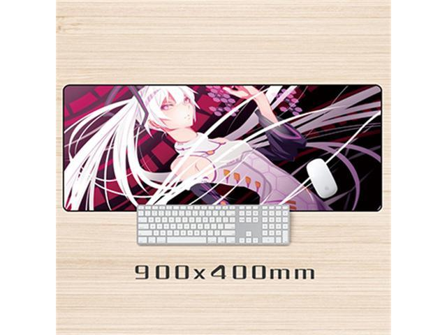 Large Size 900x400mm Anime Mouse Pad Laptop Table Gaming Mouse Pad Lock Edge Non Slip Mousepads Desk Notebook Office Mouse Mats Newegg Com