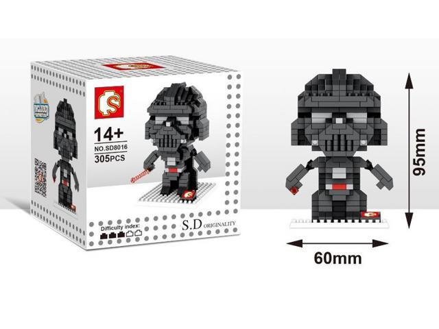 Sd 8016 Star Wars 305pcs Diamond Building Blocks 3d Diy Toy Figure