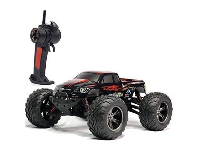 Monster Truck Rc Cars >> Tozo C2032 Rc Cars High Speed 30mph 1 12 Scale Rtr Remote Control Brushed Monster Truck Off Road Car Big Foot Rc 2wd Electric Power Buggy W 2 4g