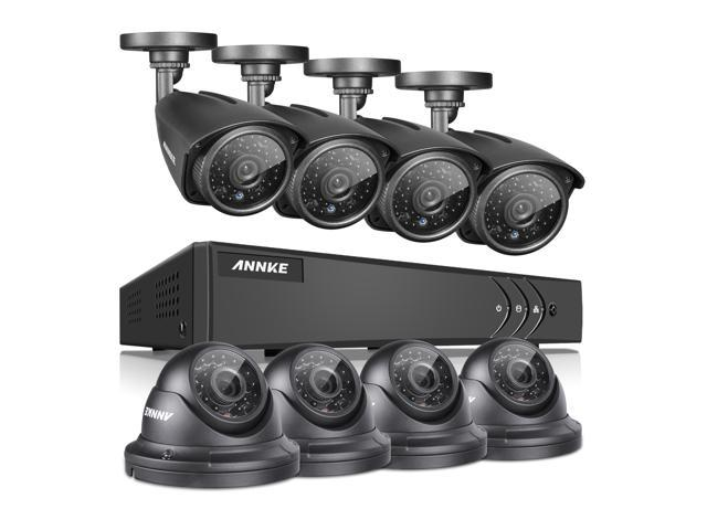 Annke 8ch 1080n Security Dvr System With 8 Hd 1 3mp 1080