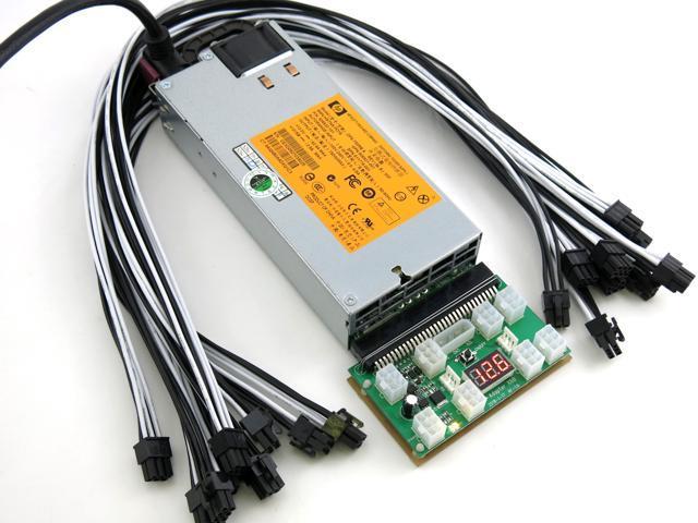 750 Watt Power Supply for 2 Bitmain Antminer Z9 Mini ASIC Miner PSU  110-240V - Newegg com