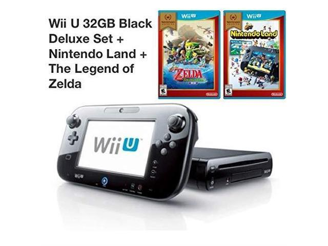 Wii U 32GB Deluxe Console With Gamepad Nintendo Land The Legend Of Zelda: The Wind Waker