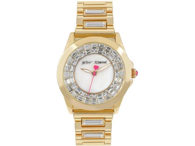 5dec0316e6d4 Betsey Johnson BJ00464-02 Women s Analog Display Quartz Watch ...