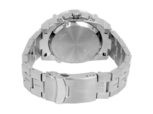 729491e5d Bulova 96G175 Precisionist Chronograph Stainless Steel Mens Watch, Black