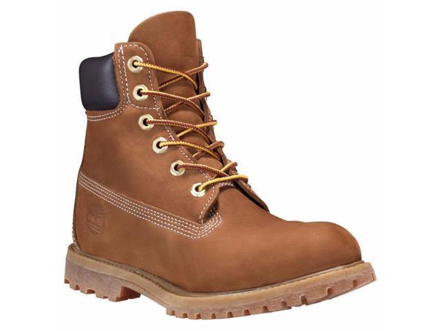 quality design d99cf 29d78 Timberland C10360 Women s 6-Inch Premium Waterproof Boots Rust Nubuck 6 ...