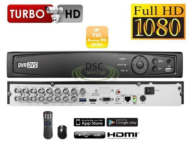 1080P TVI 4CH HD TVI DVR support hybrid TVI.Analog.IP New 3MP