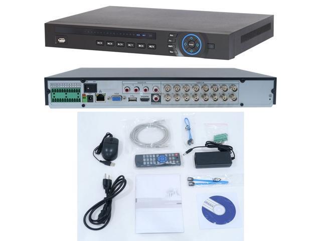 Dahua HCVR5216A-V2 16ch tribrid DVR, HDCVI + analog + IP, 1080P, 2 HDD  ports - Newegg com