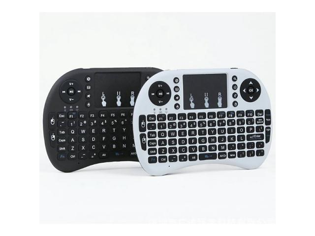 Classic Russian RF 2 4G Wireless Mini Keyboard Mouse Touchpad for Android  TV Box / Smart TV/Raspberry Pi / Laptop - Black - Newegg com
