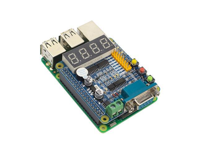 Raspberry Pi 3 GPIO-232 Expansion Board LED Nixie Tube 485232 UART Keys  Multifunction GPIO Extension Board - Newegg com