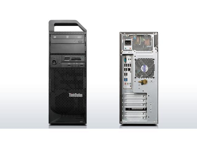 Lenovo Thinkstation S30 - Intel Xeon E5-1620 v2 3 7GHz Quad Core CPU - 24GB  RAM - 1TB HDD - DVDRW - Windows 10 Pro 64-bit installed - KB/Mouse