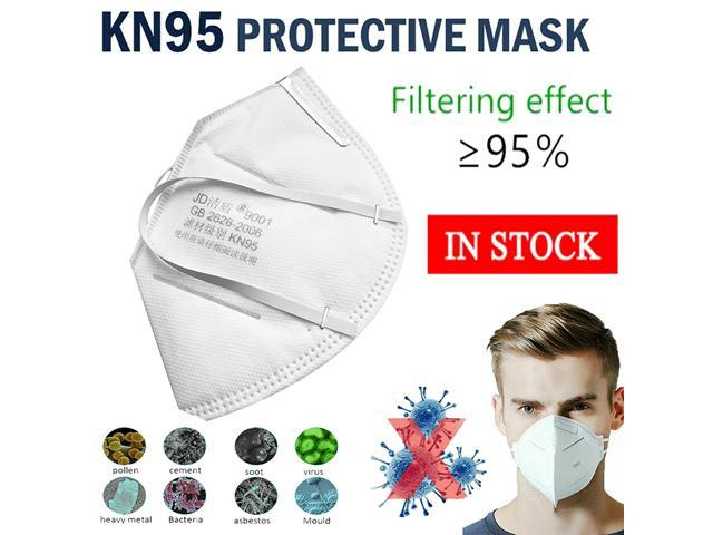 10pcs Pm2.5 KN95 N95 Dust Mask Anti Odor Smog Cotton Dust Mouth Face Masks
