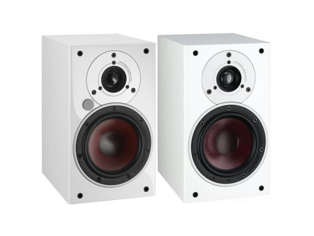 DALI ZENSOR 1 AX Active Compact Bookshelf Speakers In White Pair