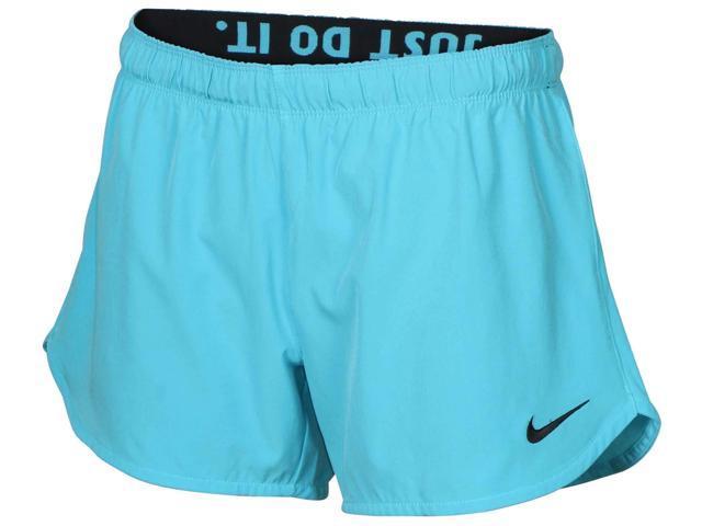 49d7ea2e7 Nike Women s Dri-Fit Phantom 2-In-1 Training Shorts-Light Blue-Large ...