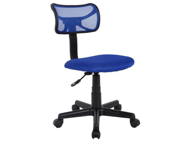 Proht Mid Back Armless Mesh Office Desk Task Chair Navy