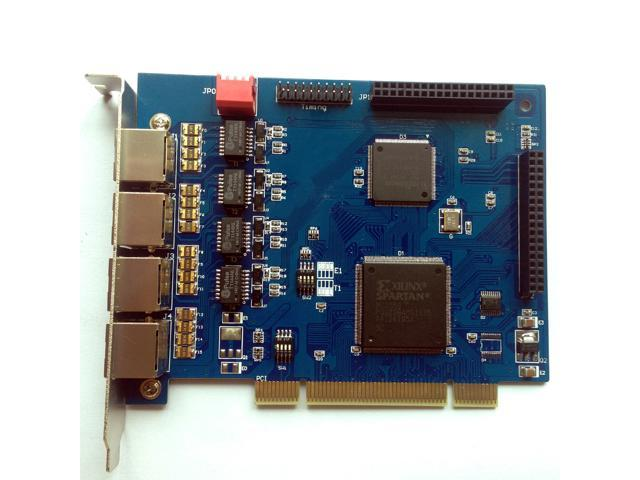 Quad Span ISDN E1 / T1 Card,PCI Connector,Support Astersk digium  AsteriskNow sangoma Freepbx Issabel ,dahdi T1 Card te420p ISDN SS7 PRI  ,Call Center