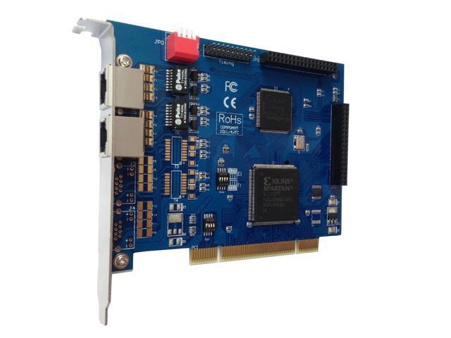 TE220P ISDN Pri E1 / T1 Card with 2 E1/T1 Ports,For Freepbx , AsteriskNow ,  Issabel , Asterisk PCI Card VoIP PBX System TE110P TE405P - Newegg com