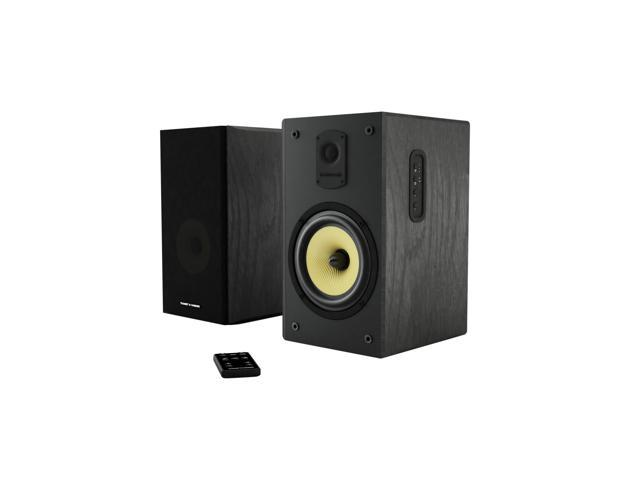 Thonet Vander KUGEL 20 Wooden Bookshelf Speakers Black Pair