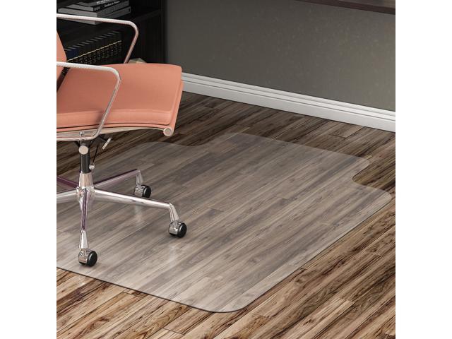 Lorell Hard Floor Chairmat Str Edge 45 Quot X53 Quot Wide Lip 25