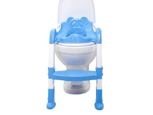 Potty Training Toilet : Foxnovo baby toddler potty training toilet chair seat step ladder