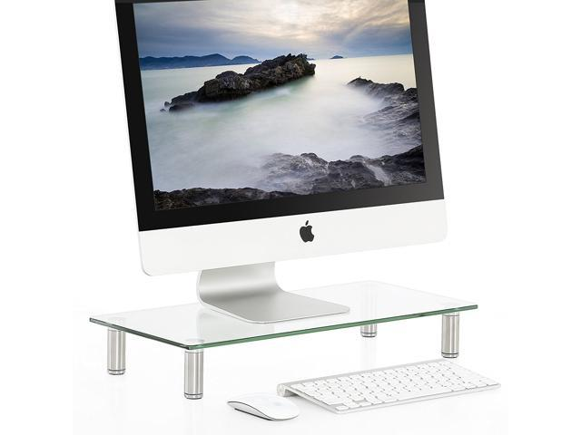 Fitueyes Clear Computer Monitor Riser Save E Desktop Stand Dt105001gc