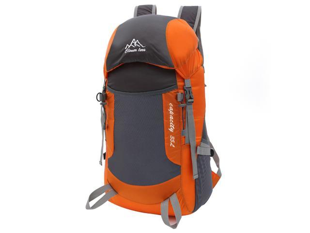 TinkSky Authorized Backpack Daypack Lightweight Packable Travel Hiking  Camping Outdoor Waterproof Pack (Orange) de677e0985