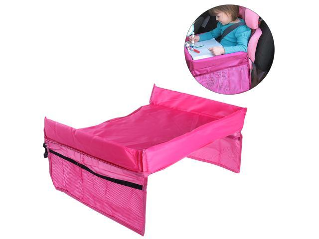 TinkSky Portable Safety Waterproof Snack Car Seat Table Organizer Stroller Tray Play Travel Lap Drawing