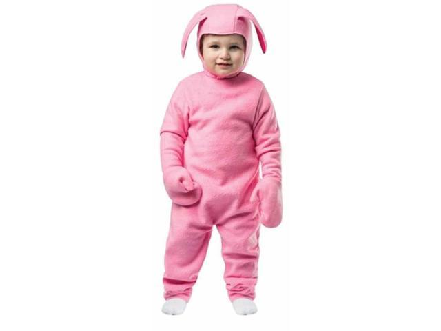 ralphie bunny suit toddler costume a christmas story easter boys girls pink baby toddler 3