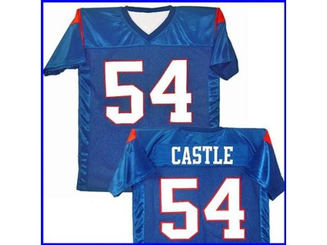 Thad Castle  54 Mountain Goats Blue Jersey T-Shirt State Football Costume -  Adult Small ef8e7980f