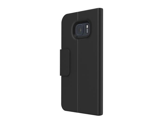 new styles 0a415 9091d Incipio Corbin Folio Black Lightweight Wallet Folio Case for Samsung Galaxy  S7 edge SA-747-BLK - Newegg.com