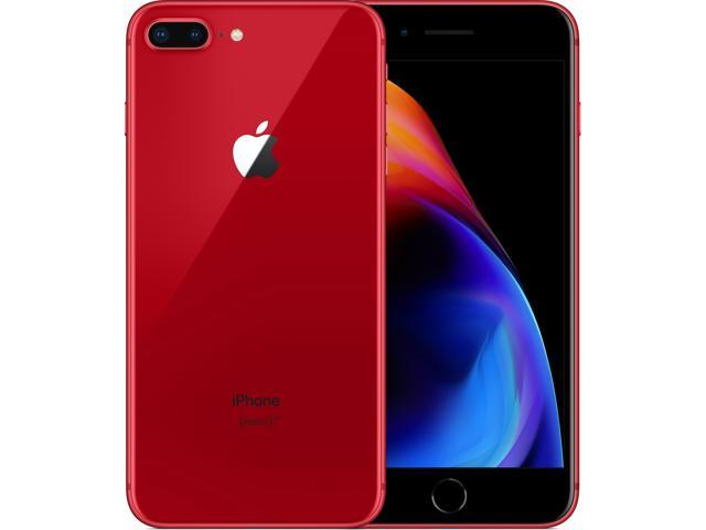 c6f6551f4ed6 iPhone 8 Plus 64GB (PRODUCT) Red FACTORY UNLOCKED (LIMITED EDITION) Works  with all GSM Carriers in USA and Worldwide. - Newegg.com