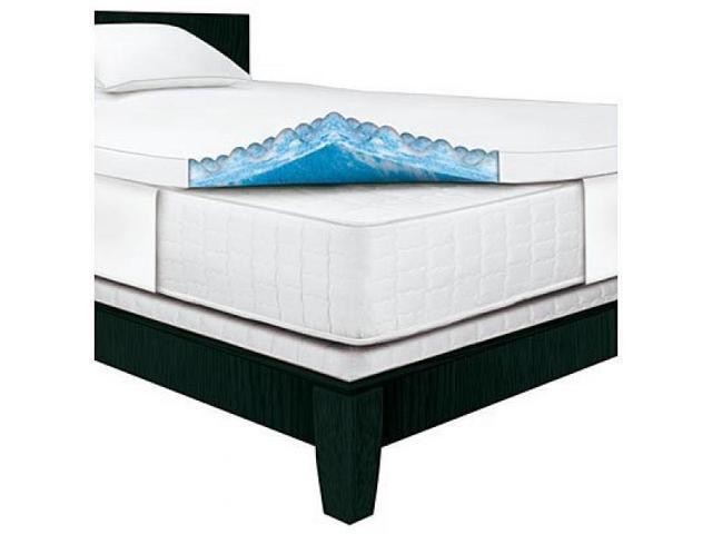Serta Rest King 3 Inch Gel Memory Foam Mattress Topper 76 X