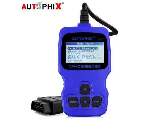Autophix V007 OBD2 Scanner for Audi Skoda Volkswagen VW Oil Service Reset  ABS Airbag SRS Transmission EPB SAS Immobilizer Check Engine Code Reader