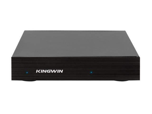 "Kingwin K2X-200C External Enclosure for 2.5"" SSD/SATA Hard Drive USB 3.1 Gen 2 Type C interface (K2X-200C) Black Aluminum Case Supports Hot Swap Applicable for PC, Notebook and Mac"