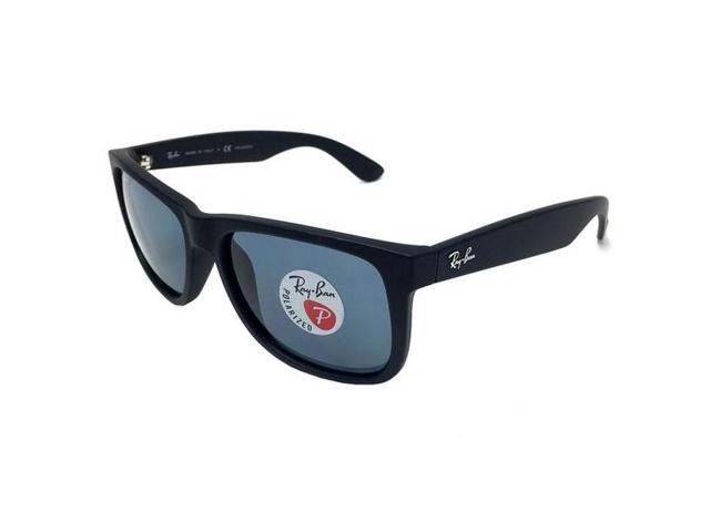 306697b91f Ray-Ban Justin Classic Polarized Sunglasses (Black Blue) - Newegg ...