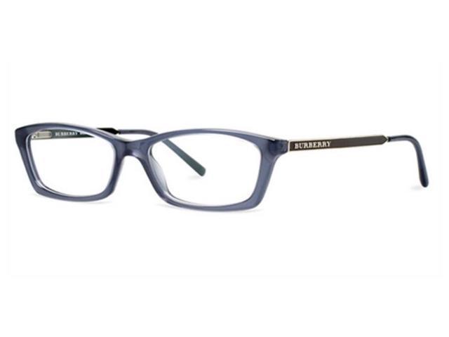 3034dbf4f00 Burberry BE2129-3013-53 Women s Blue Frame Genuine Eyeglasses ...
