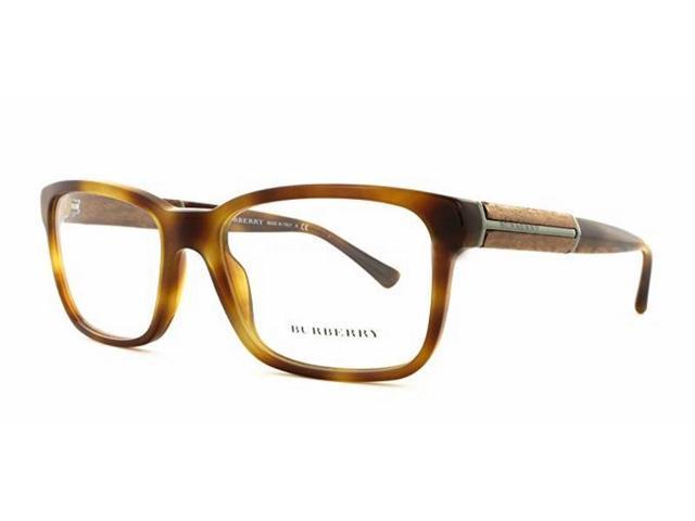 5b77592c632 Burberry BE2149-3420 Men s Brown Havana Frame Genuine Eyeglasses NWT