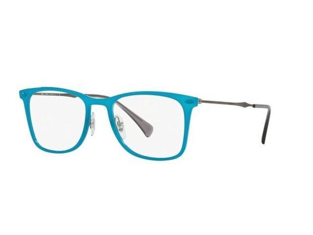 ed31497aa175 Ray Ban RX7086-5640-49 Tech Unisex Blue Frame Genuine Eyeglasses NWT