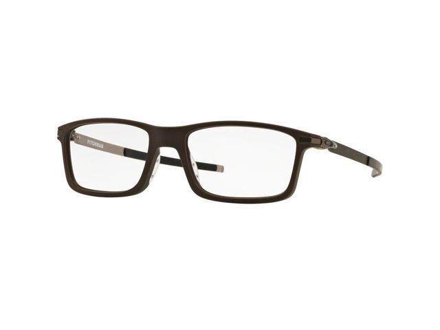 93b367e5de Oakley OX8050-04-55 Pitchman Men s Black Frame Genuine Eyeglasses New In Box