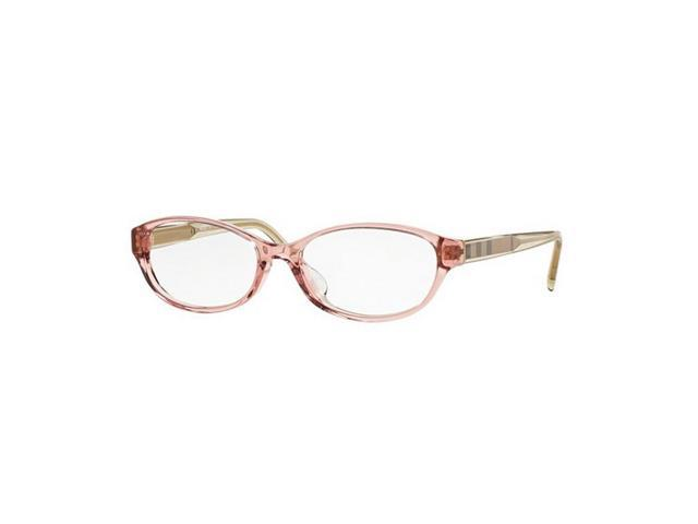 74a021dcb3c Burberry BE2215D-3565 Oval Women s Crystal Pink Frame Genuine Eyeglasses NWT