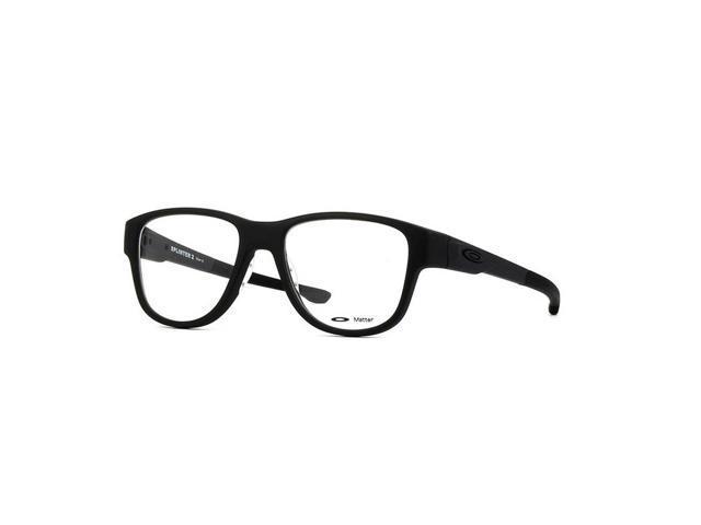 392078ff54 Oakley OX8094-01-53 Splinter Unisex Black Frame Genuine Eyeglasses New In  Box