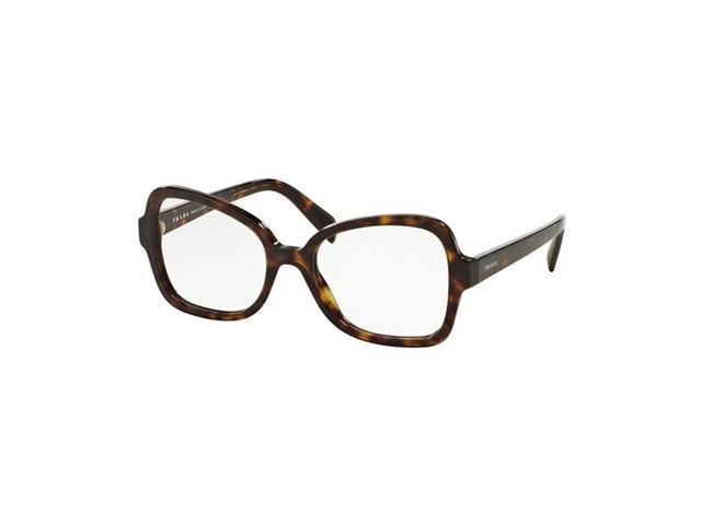 2e08dc0df417 Prada PR25SV-2AU1O1 Butterfly Women s Havana Frame Genuine Eyeglasses NWT
